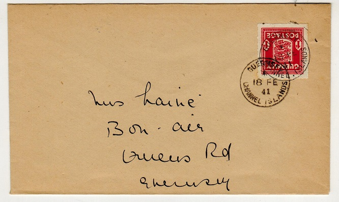 GREAT BRITAIN (Guernsey) - 1941 1d