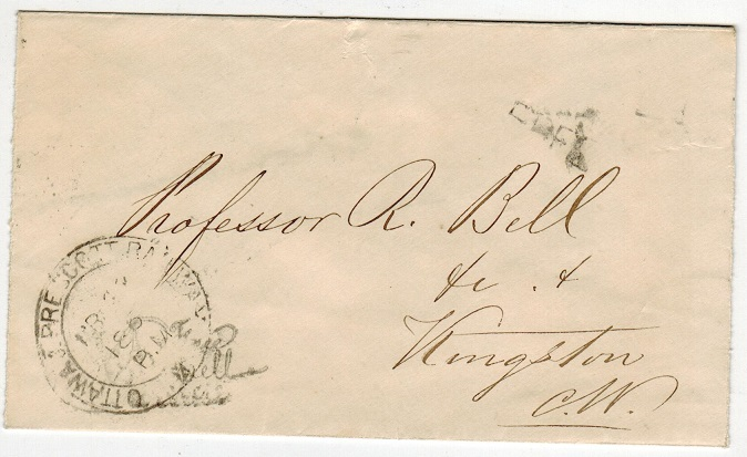 CANADA - 1867 stampless