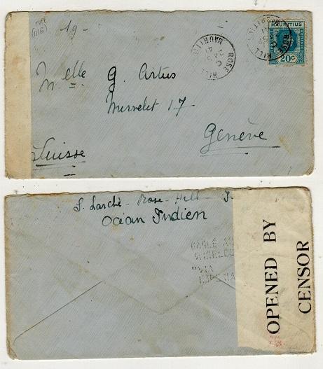 Mauritius British Commonwealth Postal History Specialists Steve