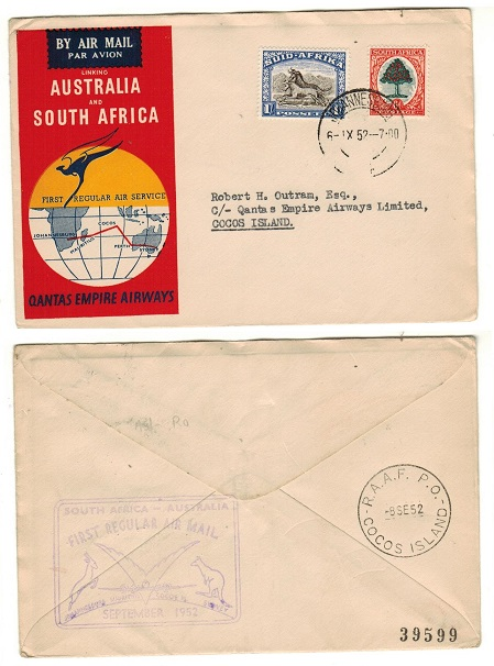 SOUTH AFRICA - 1952