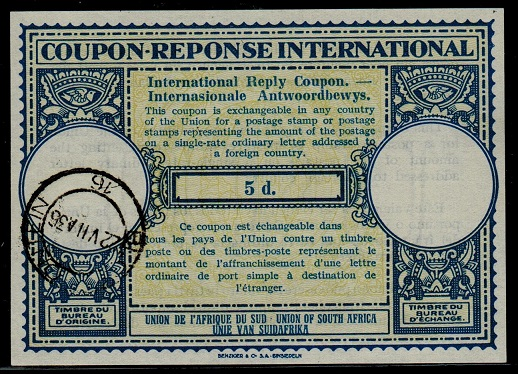 International coupons postage